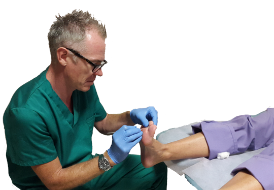 Podiatrist Philip Mann